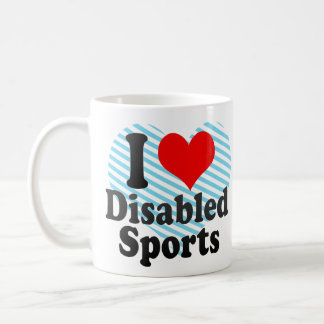 I love Disabled Sports Coffee Mug