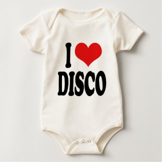I Love Disco Baby Bodysuit
