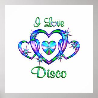 I Love Disco Print