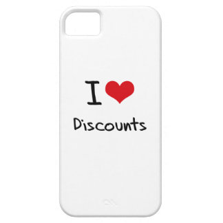 I Love Discounts iPhone 5 Cover