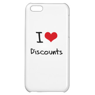 I Love Discounts Cover For iPhone 5C