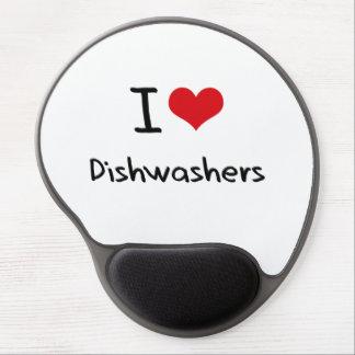 I Love Dishwashers Gel Mouse Mat