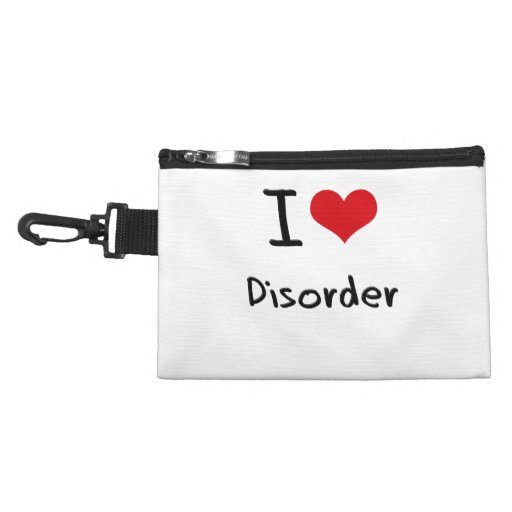 I Love Disorder Accessory Bags