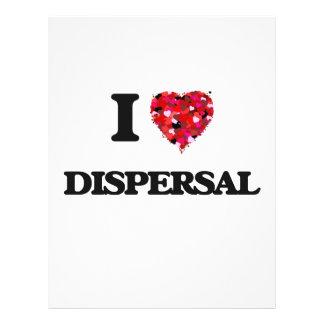 I love Dispersal 21.5 Cm X 28 Cm Flyer