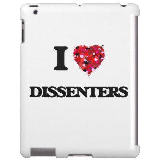 I love Dissenters iPad Case