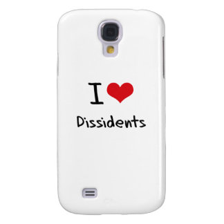 I Love Dissidents Galaxy S4 Case