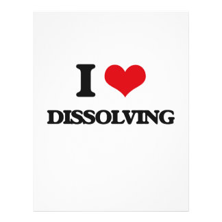 I love Dissolving Flyers
