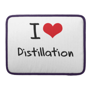 I Love Distillation MacBook Pro Sleeves