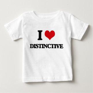 I love Distinctive Tee Shirt
