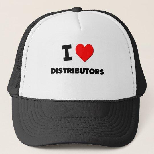 I Love Distributors Trucker Hat