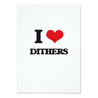 I love Dithers Cards
