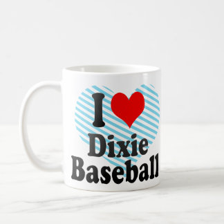 I love Dixie Baseball Mug