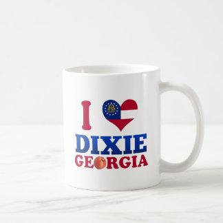 I Love Dixie, Georgia Mug
