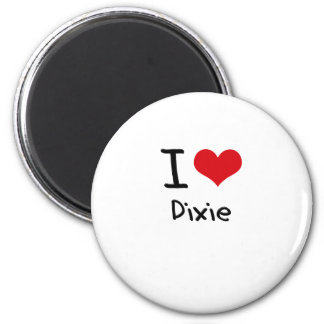 I Love Dixie Magnet