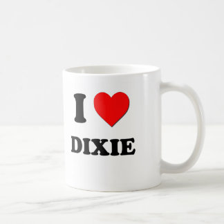 I Love Dixie Coffee Mug