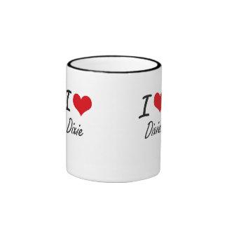 I love Dixie Ringer Mug