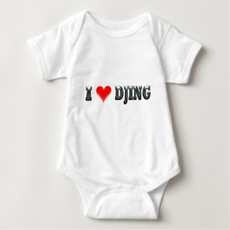 I Love DJing Baby Bodysuit