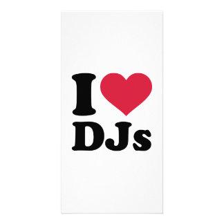 I love DJs Photo Cards