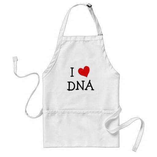 I Love DNA Adult Apron
