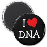 I Love DNA Refrigerator Magnet