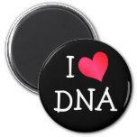 I Love DNA Refrigerator Magnets