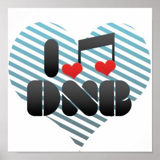 I Love DNB Print