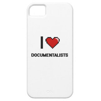 I love Documentalists iPhone 5 Cases