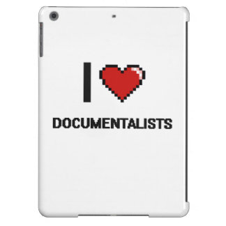 I love Documentalists iPad Air Cases