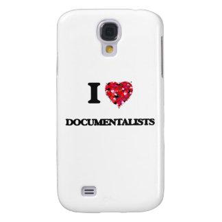 I love Documentalists Galaxy S4 Case