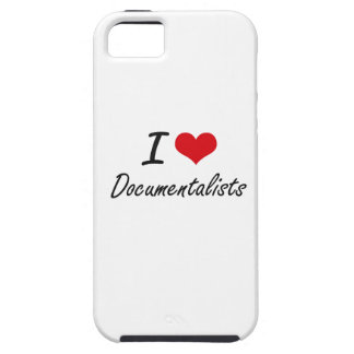 I love Documentalists iPhone 5 Cover