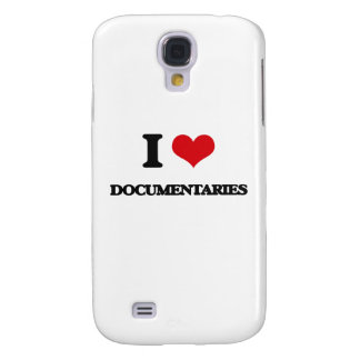 I love Documentaries Galaxy S4 Case