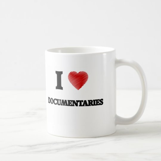 I love Documentaries Coffee Mug