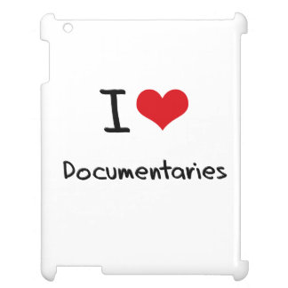I Love Documentaries iPad Cases