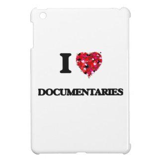 I love Documentaries iPad Mini Covers