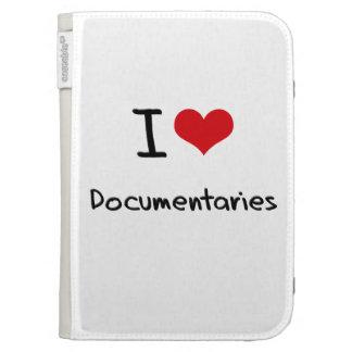 I Love Documentaries Kindle 3 Cases