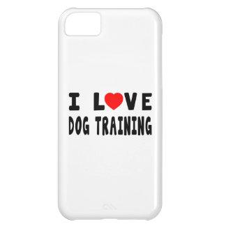 I Love Dog Training iPhone 5C Covers