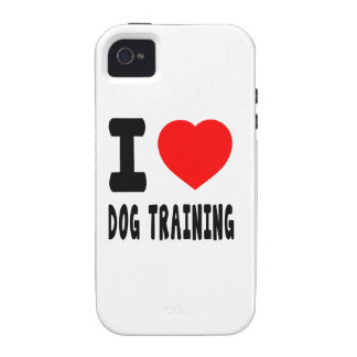 I Love Dog Training Case-Mate iPhone 4 Covers
