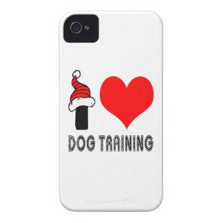 I Love Dog Training Design iPhone 4 Cases