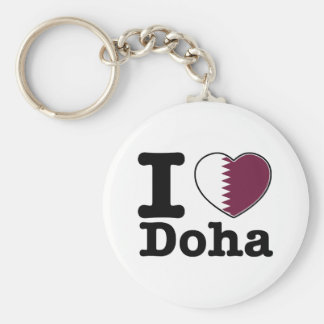 I love Doha Key Ring