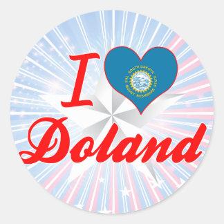I Love Doland, South Dakota Sticker
