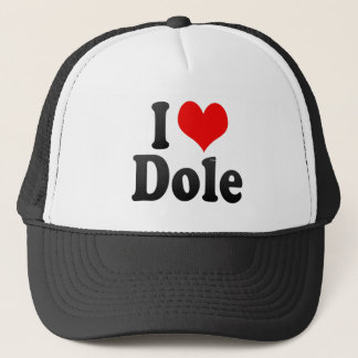 I Love Dole, France Trucker Hat