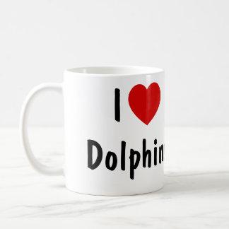 I Love Dolphins Coffee Mug