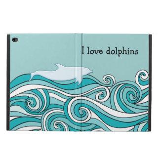 I love Dolphins iPad Air Cases
