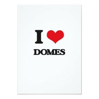 I love Domes 13 Cm X 18 Cm Invitation Card