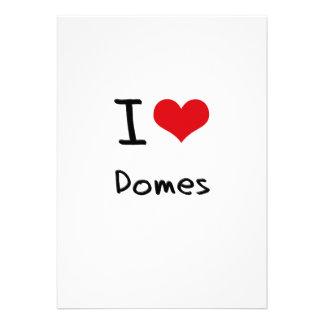 I love Domes Invite