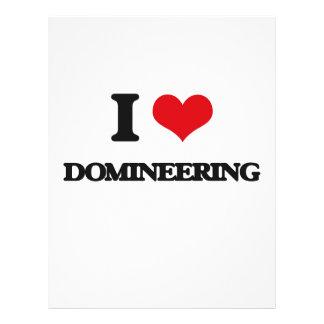 I love Domineering 21.5 Cm X 28 Cm Flyer