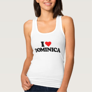 I LOVE DOMINICA T-SHIRTS