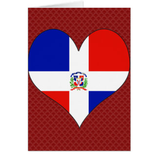 I Love Dominican Republic Cards