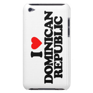 I LOVE DOMINICAN REPUBLIC iPod TOUCH COVERS