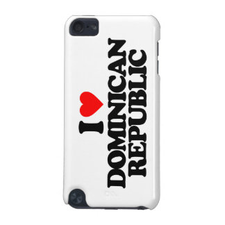 I LOVE DOMINICAN REPUBLIC iPod TOUCH (5TH GENERATION) CASES